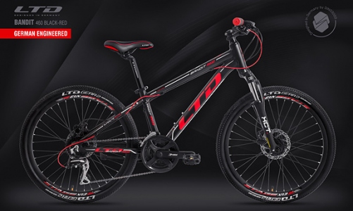 LTD Bandit 460 Black-Red