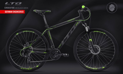 LTD Crossfire 840 Black-Green